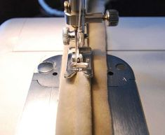 How to do double-welting using a zipper foot.  Very cool.