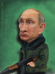Putin Caricature