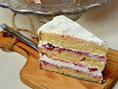 Vanilla Cake, Food And Drink, Desserts, Decor, Mascarpone, Tailgate Desserts, Deserts, Decoration, Postres