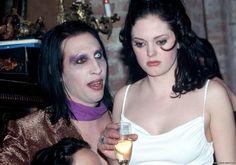 Marilyn Manson & Rose McGowan, 1998