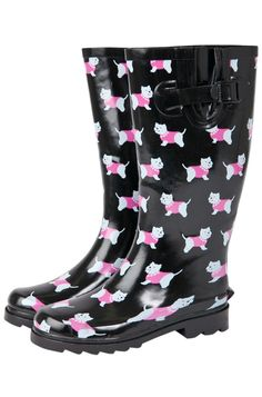 Westie Dog Wellies... Have these and LOVE them!