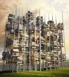os arquitetos pensaram em proporcionar um lugar mais agradável para se viver,