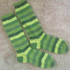 Sock surgeon afterthought heel plus knitpicks Felici yarn.