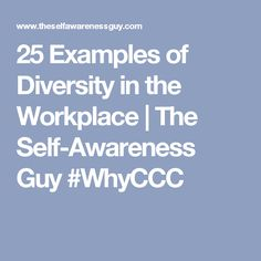 examples of why diversity is important Diversity in the workplace is important for employees because it manifests itself in building a great reputation for the company, leading to increased profitability and opportunities for workers workplace diversity is important within the organization as well as outside business reputations flourish when.