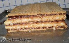 Kókuszos ostyaszelet recept fotóval Tiramisu, Banana Bread, Bakery, Paleo, Food And Drink, Ethnic Recipes, Crafts, Diet, Manualidades
