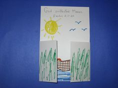 Baby Moses Surprise Picture - art project -- Exodus ** possibly switch craft (combine) I like the flaps. Sunday School Projects, Sunday School Teacher, Sunday School Activities, Sunday School Lessons, Preschool Bible, Bible Activities, Preschool Crafts, Group Activities, Baby Moses Crafts