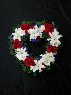 Heart wreath for site and pinterest