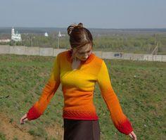 6 кауни пуловер by marisel_craft, via Flickr