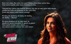 Yjhd Quotes, Shyari Quotes, Love Song Quotes, Snap Quotes, Good Thoughts Quotes, Hurt Quotes, Lesson Quotes, Writing Quotes, Movie Quotes