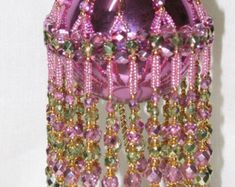 Pattern for Beaded Christmas Ornament Great by CrystalGaye