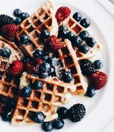 #waffles #brunch #breakfast #food