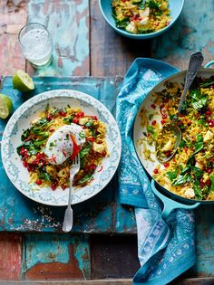 Spiced veggie rice with poached eggs   healthy recipe ideas @xhealthyrecipex  