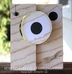 Using Stampin Up! Circle Card Thinlits