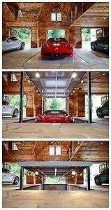"""8 of the best millionaire super garages. Ferrari 458 Italia. The  """"Man Cave""""..."""