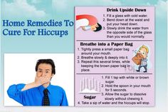Home Remedies To Cures For Hiccups