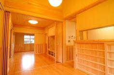奈良県産の杉・桧で癒しのリビングに(一家団欒の家)奈良県橿原市・木の家・秦建築