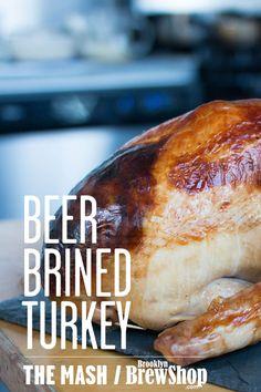 Recipe: Beer Brined Turkey