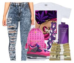 """""""trippy"""" by neshalove223 ❤ liked on Polyvore featuring MCM"""