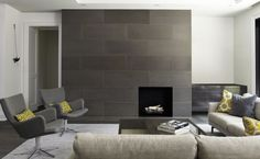 Exceptional Modern Fireplace Tile #12 Modern Tile Around Fireplace ...