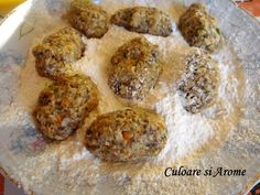 Chiftele de ciuperci Muffin, Chicken, Breakfast, Ethnic Recipes, Food, Morning Coffee, Essen, Muffins, Meals