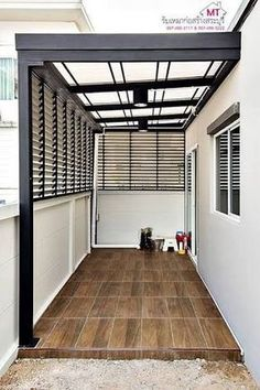 40 ideas house design modern exterior patio for 2019 Exterior House Colors, Exterior Doors, Diy Exterior, Exterior Paint, Modern Exterior, Exterior Design, Modern Patio, Door Design, House Design
