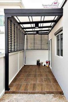 40 ideas house design modern exterior patio for 2019 Door Design, Exterior Design, House Design, Diy Exterior, Exterior Doors, Modern Exterior, Patio Design, Entrance Design, Modern Patio