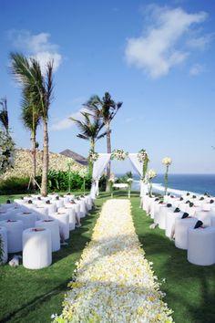 Villa wedding, Bali