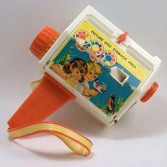 Fisher Price Movie Camera - Vintage Toy - 1968