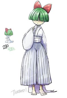 280.Ralts by tamtamdi.deviantart.com on @DeviantArt