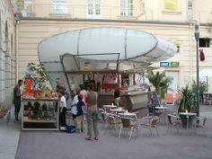 Vienna Elvis street kiosk  kiosk / retail / mobile / hospitality / icon