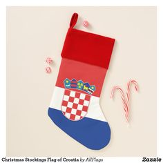 Shop Christmas Stockings Flag of Croatia created by AllFlags. Christmas Events, Christmas Party Games, Christmas Ribbon, Christmas Balls, Christmas Time, Christmas Stockings, Christmas Wreaths, Christmas Decorations, Christmas Ornaments