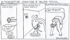 Alternative Uses For Your Selfie Stick
