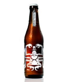 striking illustration by The Taboo Group on this australian beer called Nelson