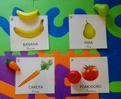 Il blog di El: Carte nomenclatura Montessori Teaching Kindergarten, Child Development, Preschool Activities, Plastic Cutting Board, Children, Style, Autism, Young Children, Swag