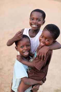 Nothing like seeing happy children at play - Ghana
