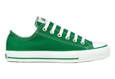 My favorite color!!!  Converse Chuck Taylor All Star Lo Top Kelly Green Canvas Shoes  men's 8/ women's 10 Converse, http://www.amazon.com/dp/B002VLW1ZI/ref=cm_sw_r_pi_dp_SEBKpb1QE71J5