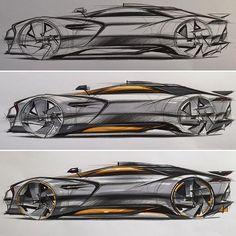 Car Sketch Demonstration www.skeren.co.kr #skeren #cardesign #carsketch #conceptcar #carrendering #carsideview #markersketch #markerrendering #markertechnique