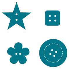 Buttons #2 Steel-Rule Die | AccuCut Craft