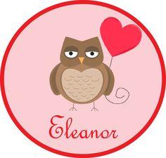 Valentine Owl Tee. $16.00, via Etsy.