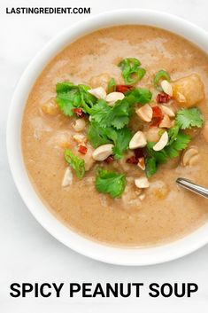 With my extra smooth peanut butter, I skipped the sandwich and made vegan spicy peanut soup with chickpeas and chunks of butternut squash. It had the thick consistency of stew, and each spoonful was hearty and mouth-tingling hot. Whipped Peanut Butter, Natural Peanut Butter, Sriracha Sauce, Roasted Peanuts, Fresh Lime Juice, Butternut Squash, Stew, Spicy
