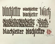 Del variare lettera nera #luca #calligraphy #workshop #pontetresa #switzerland🇨🇭