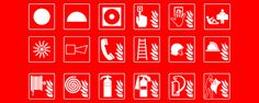 Image result for british regulatory fire signs