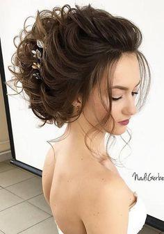 Bridal Hairstyles : Long Wedding Hairstyles from Nadi Gerber | Deer Pearl Flowers