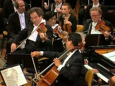 Beethoven, Triple Concierto y Fantasía Coral. Yo-Yo Ma, Perlman, Barenboim - YouTube