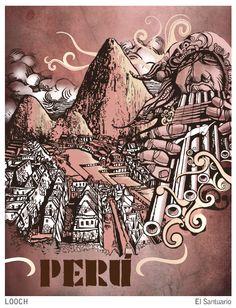 El Santuario Dad Tattoos, Cute Tattoos, Peru Culture, Inca Empire, Aztec Warrior, Mesoamerican, Native Art, Gods And Goddesses, Ink Painting