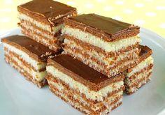 Sladké maškrty Archives - Page 25 of 88 - Recepty od babky No Bake Desserts, Just Desserts, Delicious Desserts, Dessert Recipes, Hungarian Desserts, Hungarian Recipes, Baking Recipes, Cookie Recipes, Kreative Desserts