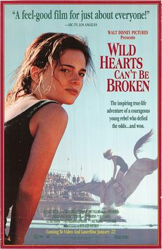 Wild Hearts Cant be Broken Disney movie on diving horses