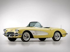 1958 Corvette. This would be perfect to have to drive around town