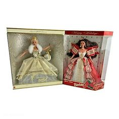 Find many great new & used options and get the best deals for Lot of 2 Happy Holiday's Celebration Barbie Special Collectors Dolls 1997 & 2000 at the best online prices at eBay! Free shipping for many products! Collector Dolls, The Collector, Happy Holidays, Celebration, Barbie, Plastic, Free Shipping, Toys, Ebay