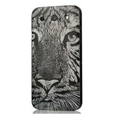 Hand-Carved-Shop BW Tiger Black-Border PC Painting Series Colorful Case For LG Optimus G Pro:discount 40-50% online cheap sale